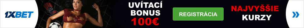 1xbet SK bonus 100%